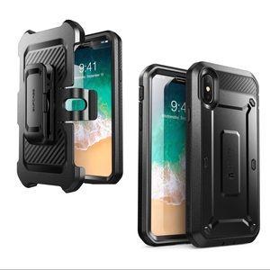 UnicornBeetle Pro Rugged Holster Case- iPhone X/Xs